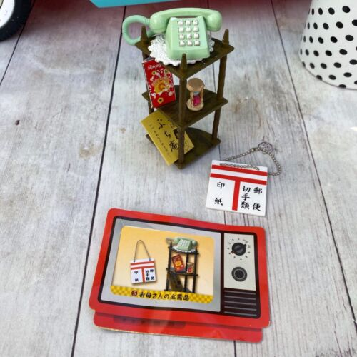 Re-Ment Retro Appliances #5 Red Telephone with Shelf - Used
