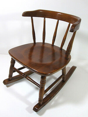 Kids Wood Rocking Chair - Childs Rocking Chair Wood Mission Arts & Craft