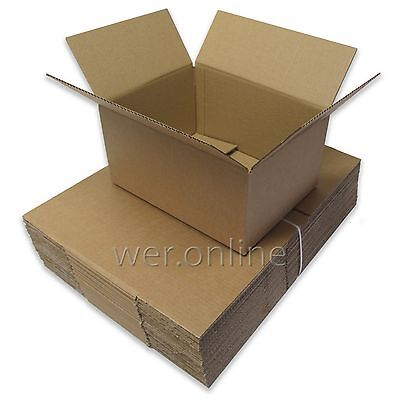 25 x A4 Postal Mailing Compact Cardboard Box 12 x 9 x 6