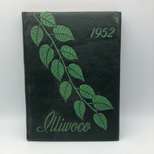 1952 Vintage Illiwoco Yearbook MacMurray College For Women Jacksonville IL  A3