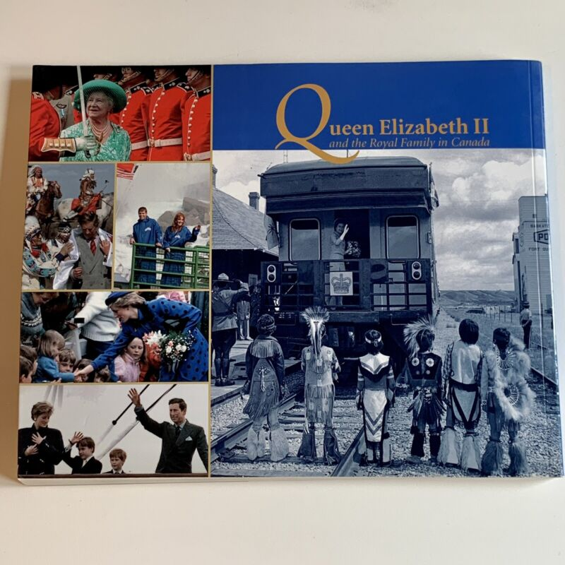 QUEEN ELIZABETH II AND ROYAL FAMILY IN CANADA BOOK by Ron Poling GOLDEN JUBLIEE