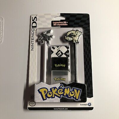 NINTENDO DS POKEMON BLACK & WHITE RESHIRAM & ZEKROM STYLUS LEGENDARY KIT NEW
