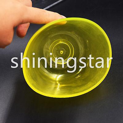 New Yellow Dental Nonstick Flexible Rubber Impression Mixing Alginate Bowl 8.5cm