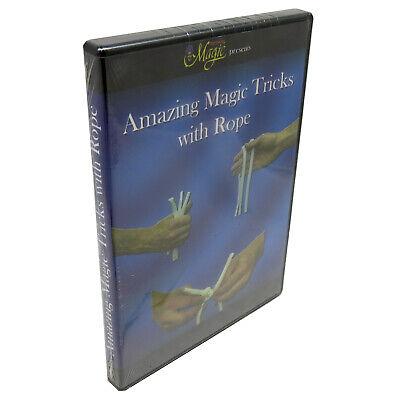 Royal Magic Amazing Magic Tricks with Rope DVD Dvd Amazing Magic Tricks