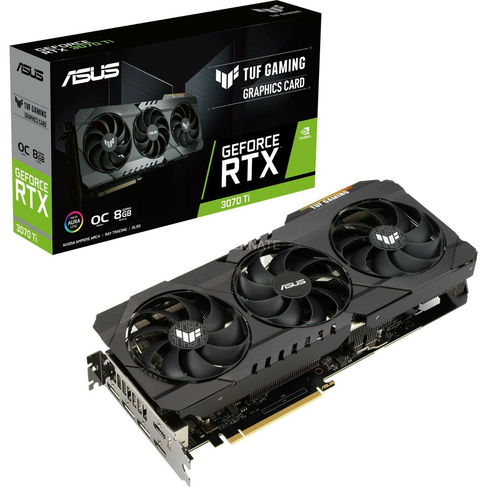 ASUS GeForce RTX 3070 DUAL OC 8GB GDDR6 Grafikkarte OVP wie neu