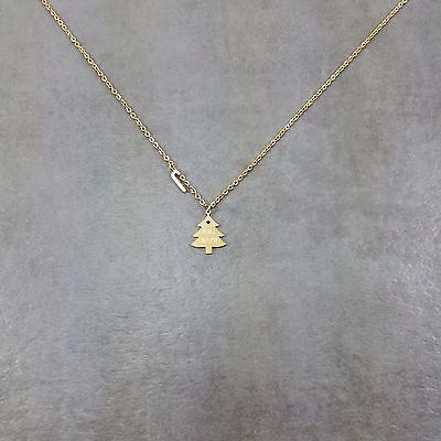 Christmas Tree Gold Plated Necklace Gift Box Merry Presents Holiday Candy (Merry Christmas Gift Box)