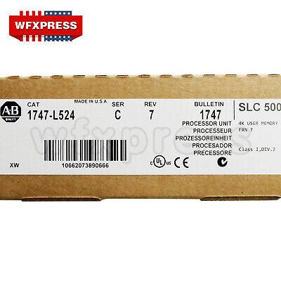 Allen-bradley Slc 500 Processor Unit 1747-l524 Ser C