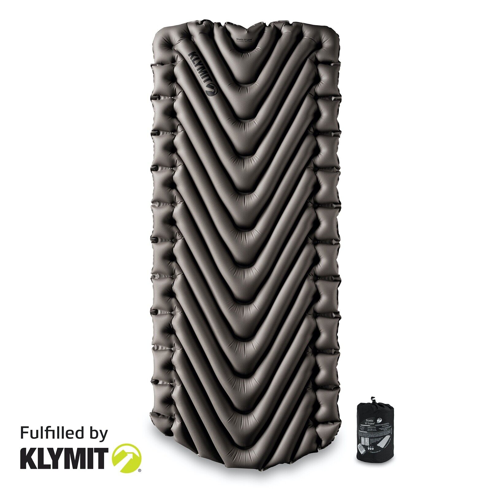 Klymit Static V Luxe Sleeping Pad Lightweight Camping - Fact
