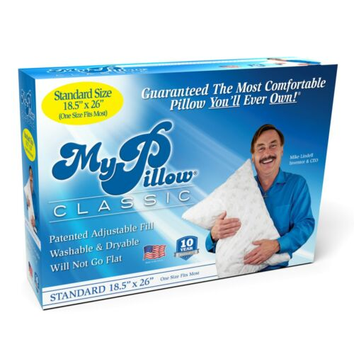 """MyPillow Classic Standard Size (18.5"""" x 26"""") Will Never go Flat"""