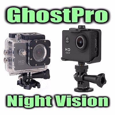 GhostPro Full Spectrum Night Vision Action Cam