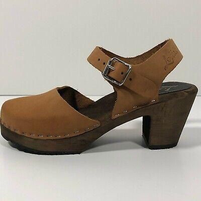 Lotta High Wood Clog Sandal Amputee/Replacement One Single Shoe Left EU 36, US 6