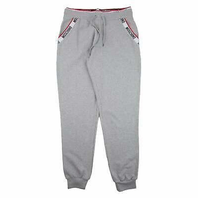 Moschino Underwear Tape Sweatpants Grey 0489