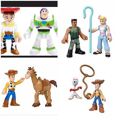 Lot Of 4 Pack Disney Pixar Imaginext Toy Story 4 Figures Collection