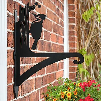 New Woodpecker Iron Hanging Basket Bracket