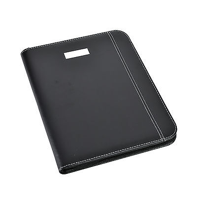A4 Zipped Conference Folder With Calculator Pad Portfolio Cl-775