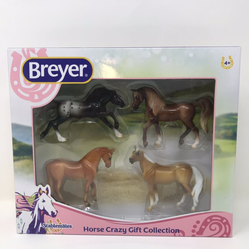Breyer Horse Crazy 4-Pack Gift Collection Play Set