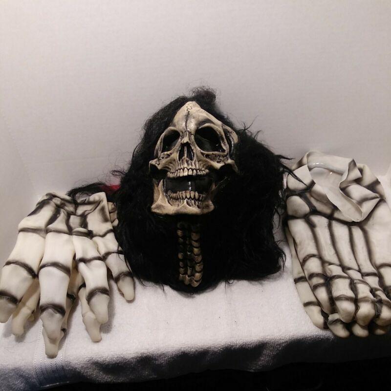 Skeleton Monster Mask bbs 1983 Costume