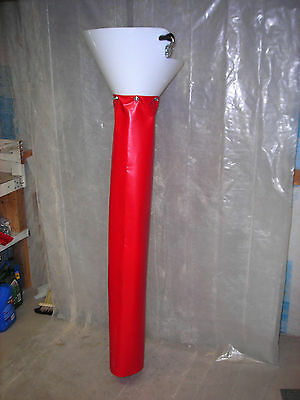 Concrete Tools-slurry Chute With 4 Boot