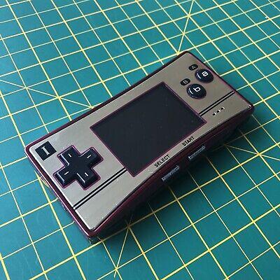 Nintendo Gameboy Micro (RARE Famicom color) w/adapter + Final Fantasy 1 + 2
