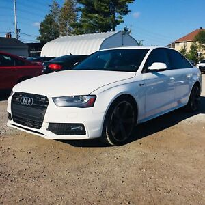 2015 Audi S4 3.0T Technik HEATED RED LEATHER INTERIOR | NAVI...