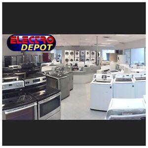 Laveuse sécheuse réfrigérateur à vendre Drummondville