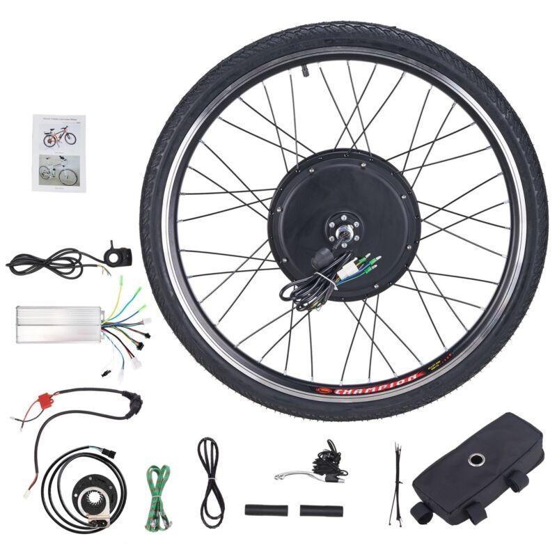 """26"""" Vorderrad E Bike Conversion Kit 48V 1000W Ebike Elektrofahrrad Umbausatz Kit"""