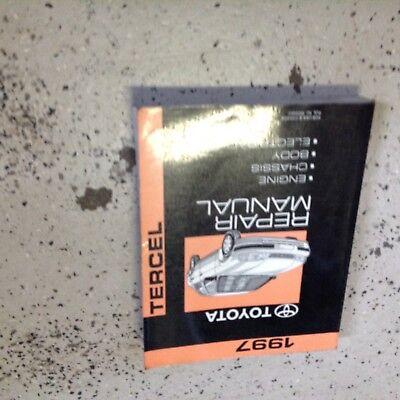 1997 TOYOTA TERCEL Service Shop Repair Workshop Manual OEM Factory