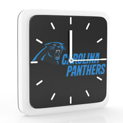 New 3 in 1 NFL Carolina Panthers Home Office Decor Wall Desk Magnet Clock 6
