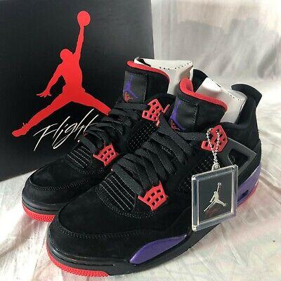 Nike x Drake OVO Air Jordan IV 4 Retro Mens Sz 10.5 Raptors Basketball Shoes NIB