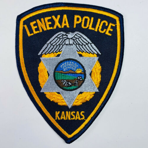 Lenexa Police Kansas KS Patch