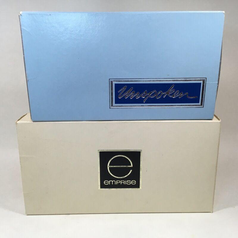 Avon Unspoken Emprise Perfumed Soap Vintage NOS Made USA 6 Soaps
