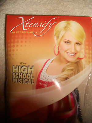 Xtensify High School Musical Sharpay Headband / Pink/Blonde Hair - Hair Musical Kostüm
