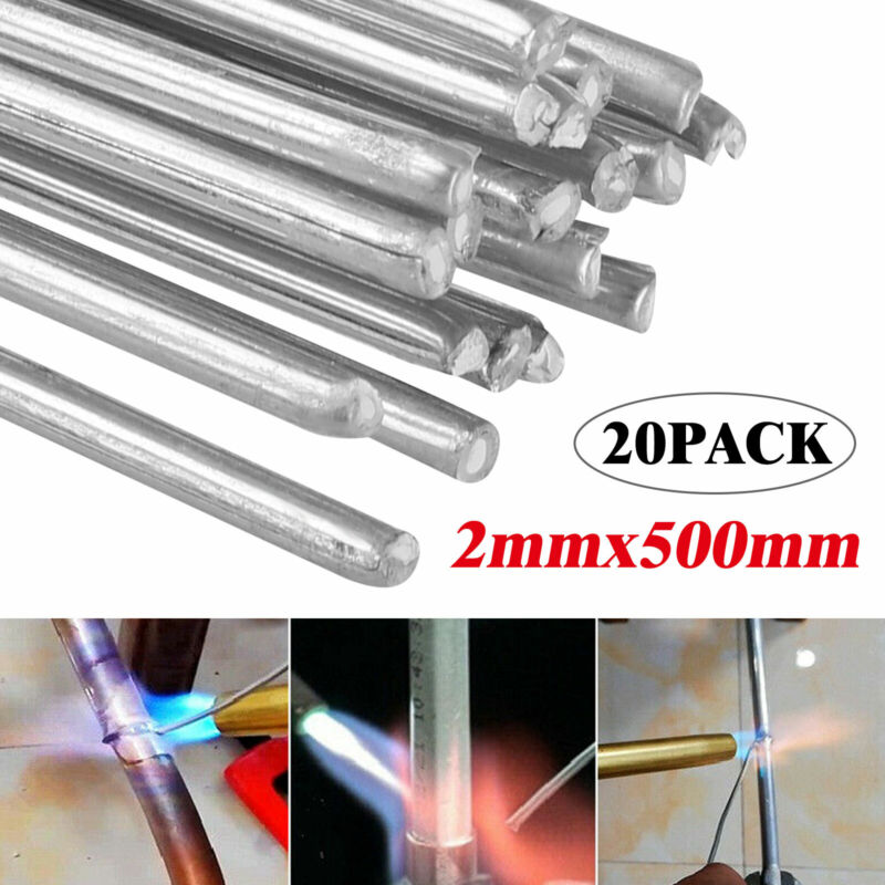 Solution Welding Flux-Cored Rods- 20pcs Free shipping 2*500mm Wire Brazing