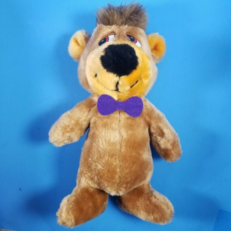 "Vtg Rare 1980 Mighty Star BOO BOO 12"" Plush Yogi Bear"