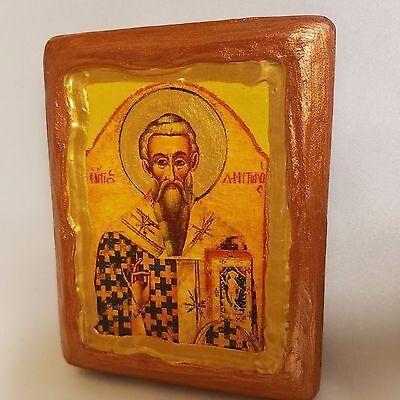 Saint Demetrianos Agios Dimitrianos Greek Cypriot Orthodox Icon