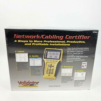 Jdsu Test-um Validator Nt950 Network Lan Ethernet Cable Tester Nt-950