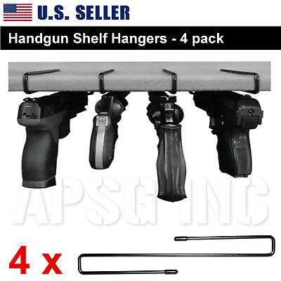 Gun Hanger Pistol Handgun Holder Safety Rack Hook Storage Cabinet Organizer Safe