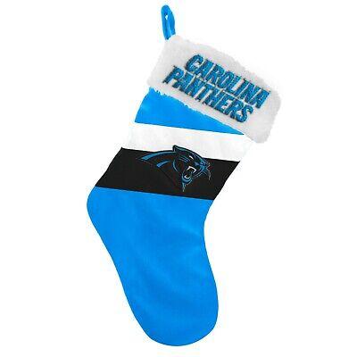 Carolina Panther Colors (Carolina Panthers Christmas Stocking Holiday 17