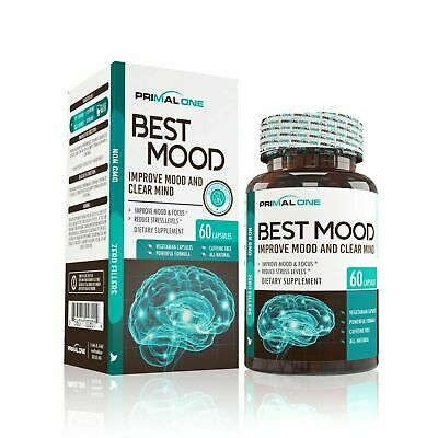 Best Mood Nootropic Mood Booster & Stress Relief Supplement for a... ORDER