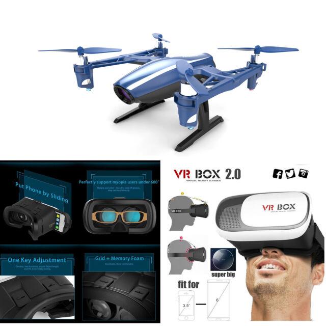 UDI U28W Wifi FPV RC Drone Quadcopter with HD Camera +VRBOX 2.0 3D Glasses