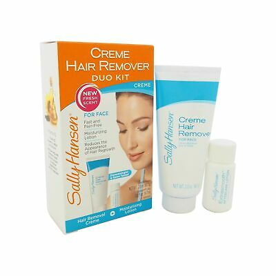 Sally Hansen Creme Hair Remover Kit for Face, Lip and Chin -