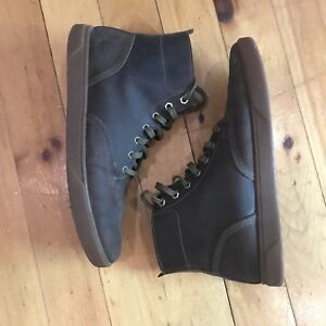 Timberland leather boots (men's size 9.5)