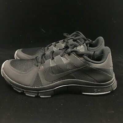 wholesale dealer 27803 4606b NIKE FREE TRAINER 5.0 V3 TRAINING SHOES TRIPLE BLACK 511018 003 SIZE 9 NEW  MENS