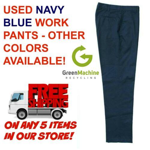 Used Uniform Work Pants Cintas Redkap Unifirst G&K Dickies etc.