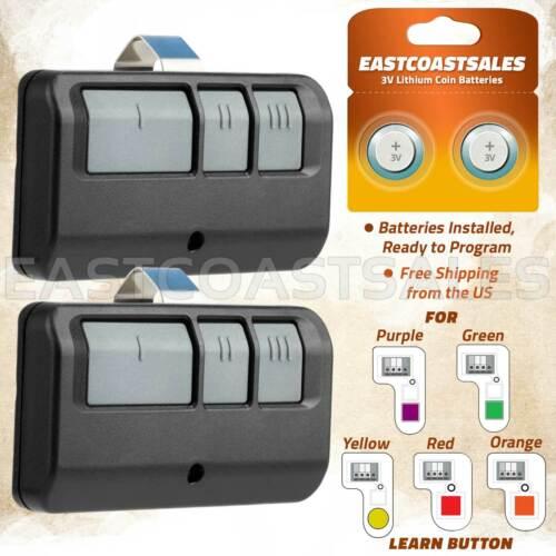 2 For LiftMaster Craftsman Garage Door Opener Remote 893LM 953EV-P2 Learn