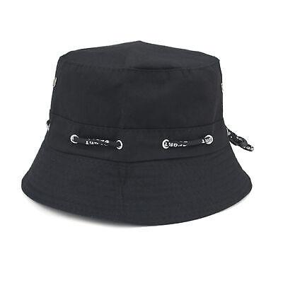 Opromo Men Women Bucket Hat Cotton Fisherman Hat for Summer Outdoor 11 Colors