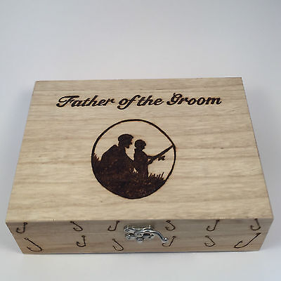 Personalized Tackle Box (Fishing box personalised free Father & Son Fishing)