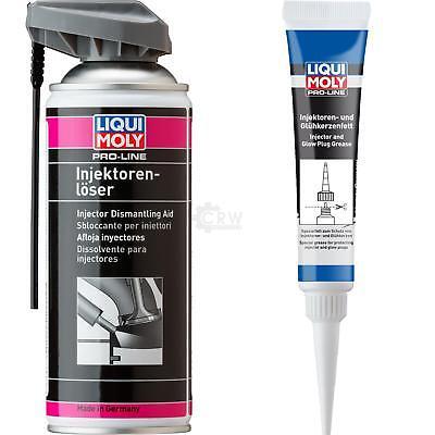 Flüssigen Paste (LIQUI MOLY  Pro-Line Set Injektorenlöser Injektoren und Glühkerzenfett)