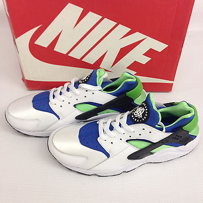 NEW Nike Air Huarache OG Scream Green Retro size US 11 - 318429 100 never use