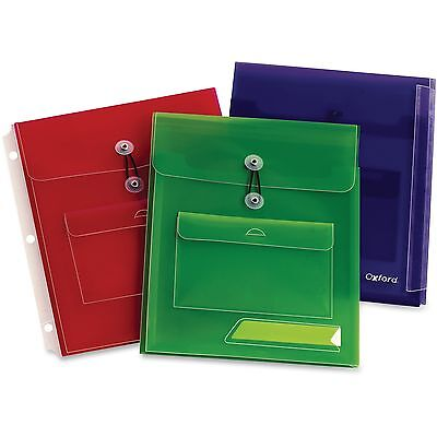 Oxford Poly Pocket Binder Envelopes Oxf-30058 Oxf30058